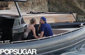 Leonardo-DiCaprio-Toni-Garrn-got-close-Spain