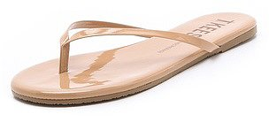 Tkees Sunscreens Patent Flip Flops