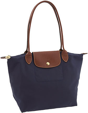 Longchamp 'Le Pliage - Small' Shoulder Bag New Navy