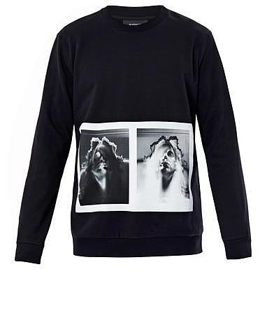 Givenchy Double Madonna-print sweatshirt