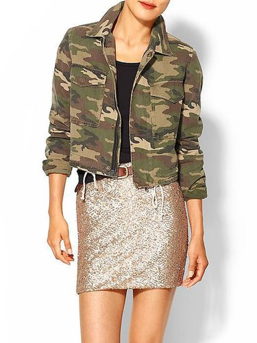 Capulet Cropped Military Jacket