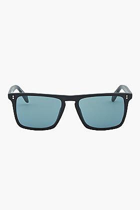 OLIVER PEOPLES Matte Black Square BERNARDO Sunglasses