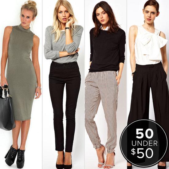 Refresh Your Work Wardrobe For Under $50