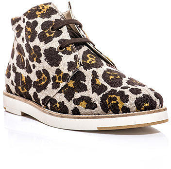 Stella McCartney Jane animal print desert boots