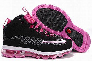 nike air max griffey jr fall 2011 black pink women shoes