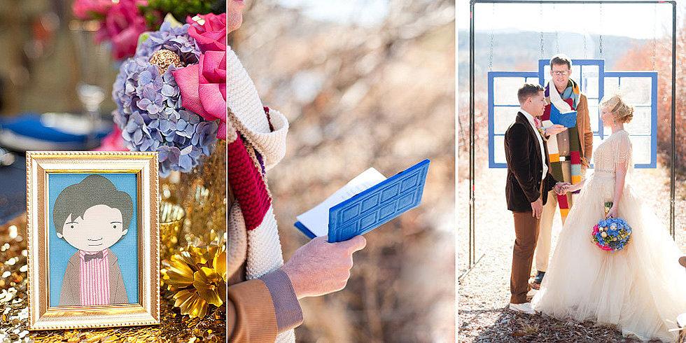 Something Blue: Doctor Who Wedding Inspiration