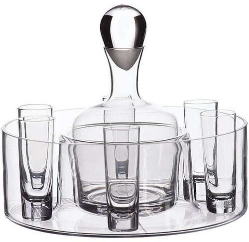 Artland - Sierra 9-Piece Vodka Set (Clear) - Home