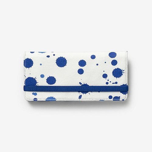 Fantastic Elastic Wallet in Splatter Paint