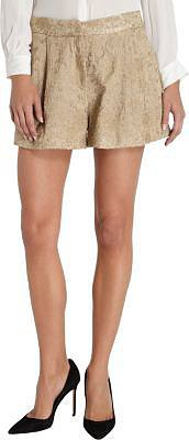Organic by John Patrick Embroidered Shorts