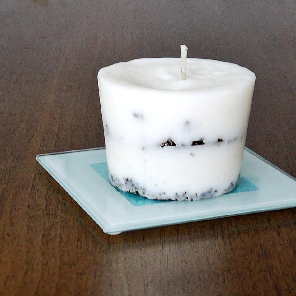 Popsugar Smart Living: Upcycled Paper Coffee Cup Candle