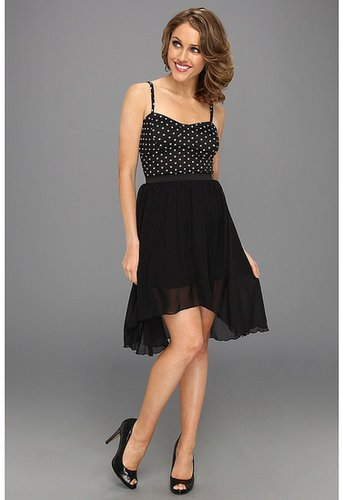 Gabriella Rocha - Heidy Polka Dot Dress (Black) - Apparel
