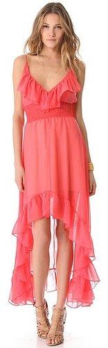 Tbags los angeles Hi Lo Ruffle Dress