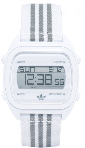 Adidas Sydney White Digital Watch