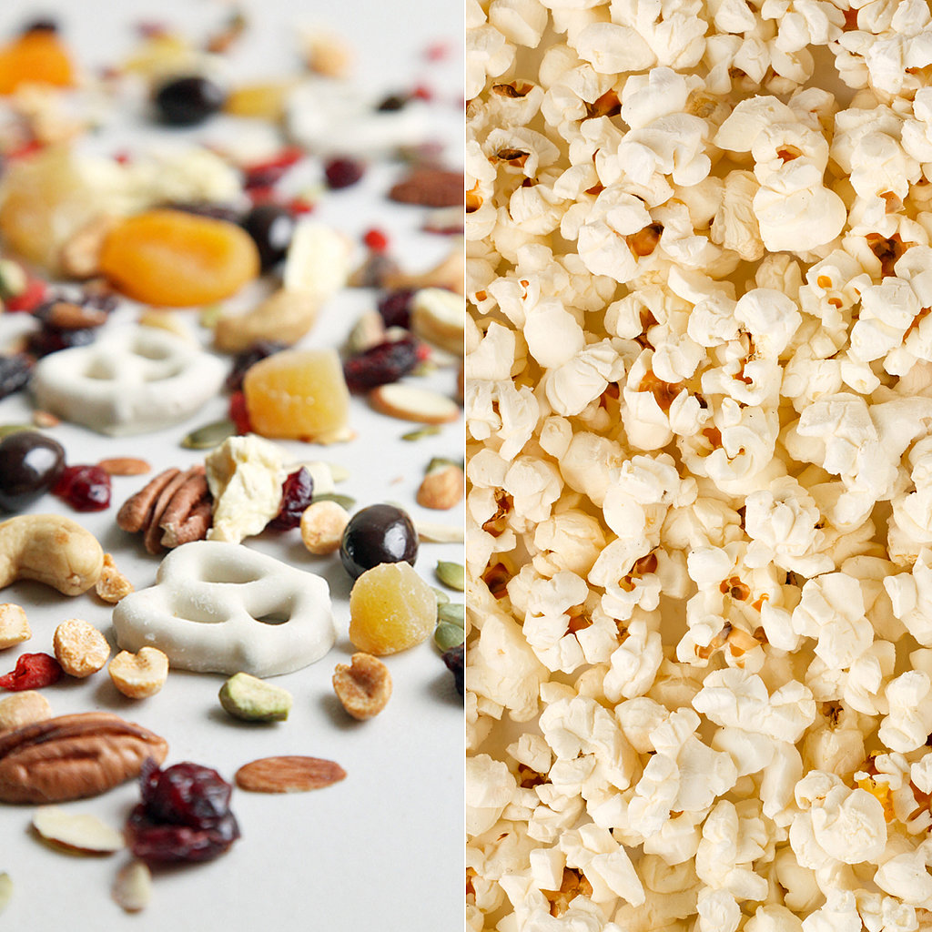 Trail Mix and Popcorn