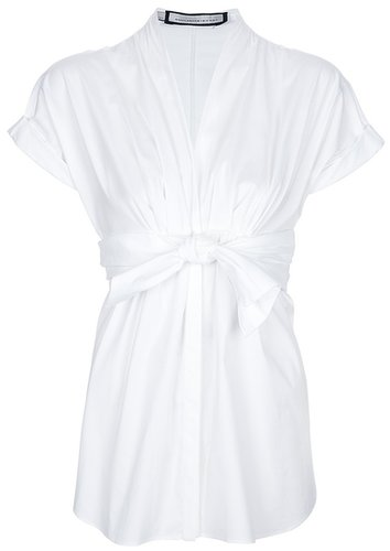 Aquilano.Rimondi belted blouse
