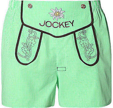Herren 'Wiesn' Boxer Short hellgrün Short