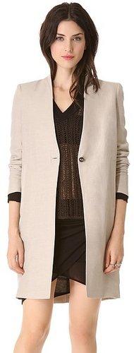 Helmut lang Matrix Linen Jacket