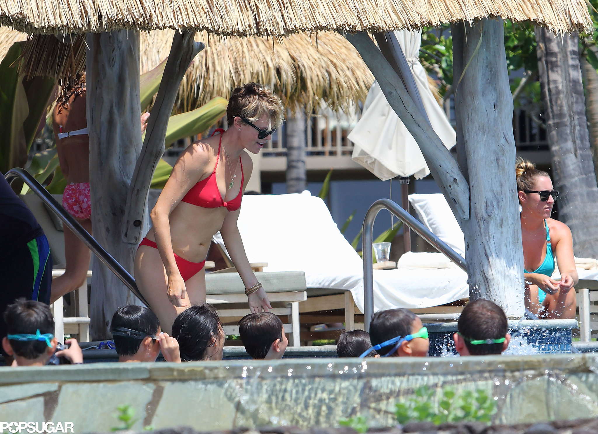 Charlize Theron Shows Off Her Hot Birthday Bikini Bod