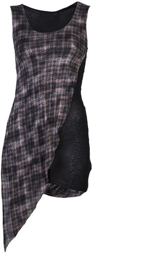 Aula Aila Plaid tank