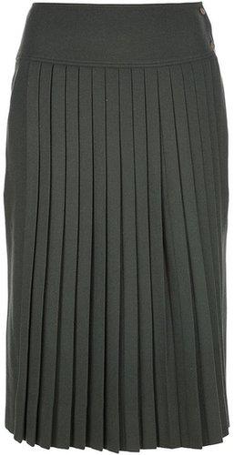 Les Copains Vintage pleated skirt