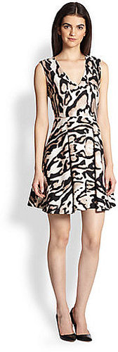 Diane von Furstenberg Renna Wool & Silk Dress