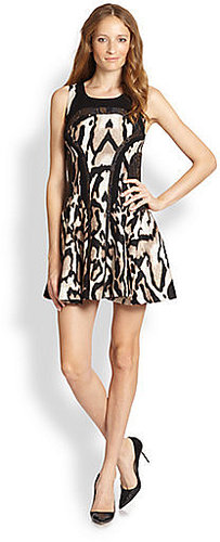 Diane von Furstenberg Raelin Wool & Silk Dress