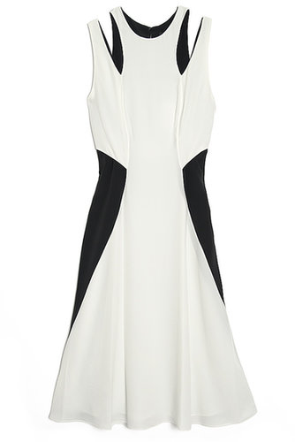 Alexander Wang Double Strap Colorblock Dress