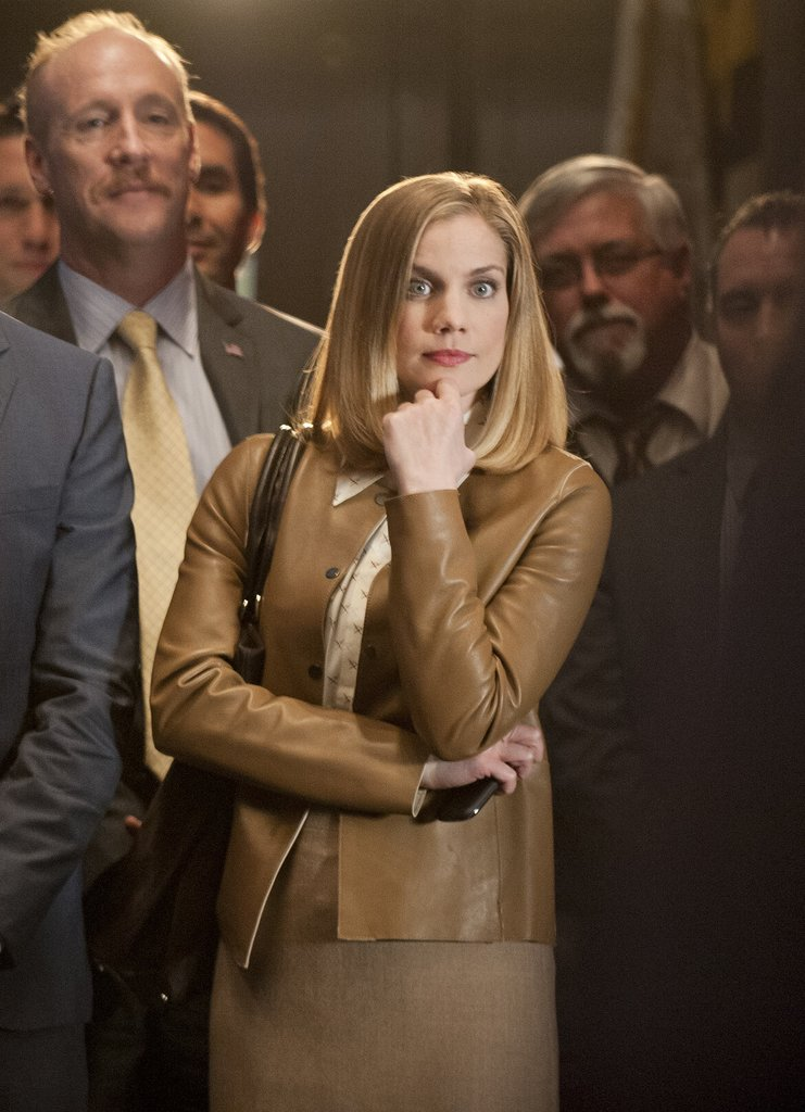 Anna Chlumsky Following in the footsteps of her Veep co-star Julia Louis-Dreyfus, Chlumsky got her first Emmy nomination this year, in the supporting actress in a comedy category.