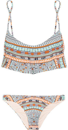 Mara Hoffman Rainbow printed bikini