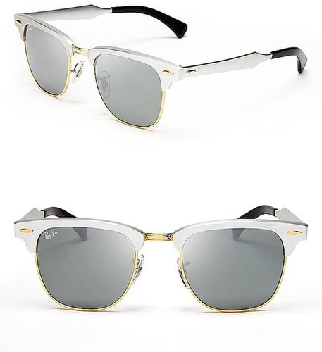 Ray-Ban Clubmaster Mirror Sunglasses