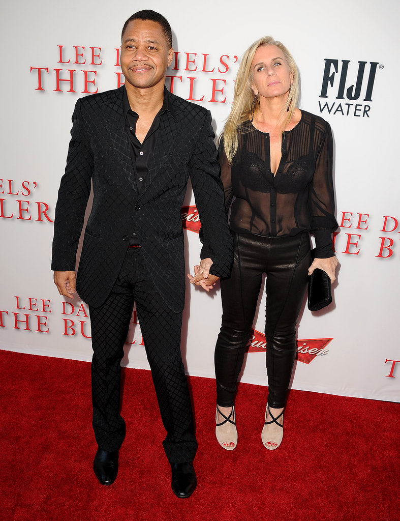Cuba Gooding Jr. and his wife, Sara Kapfer, walked the red ...