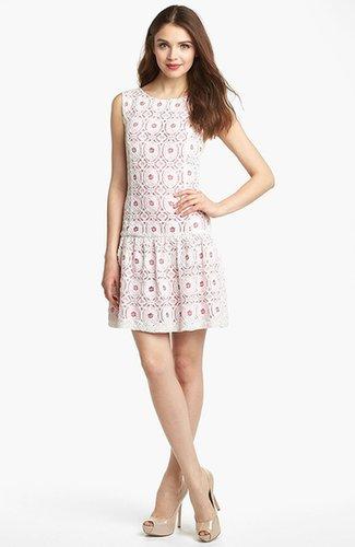 Kensie Lace Drop Waist Dress