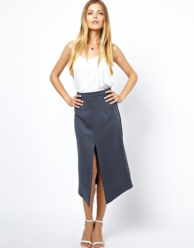 ASOS Pencil Skirt with Split Front