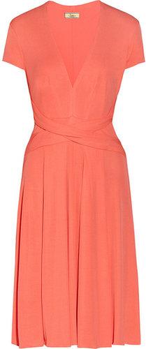 Issa Stretch-jersey dress