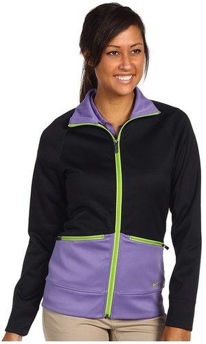 Nike Golf - Sport Full-Zip Track Jacket (Black/Purple Earth) - Apparel