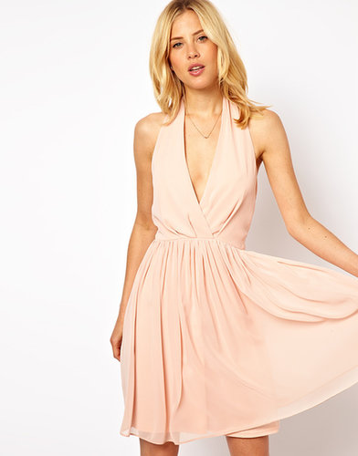 ASOS Skater Dress with Sexy Halter Neck