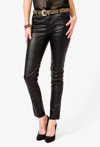 FOREVER 21 Faux Leather Cigarette Pants