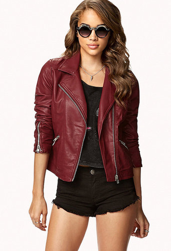 FOREVER 21 Secret Rebel Moto Jacket