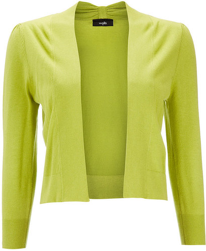 Lime Green Bow Detail Shrug