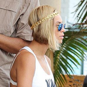 Beyonce Bob Haircut 2013