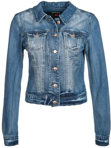ONLY CHRIS Veste en jean bleu