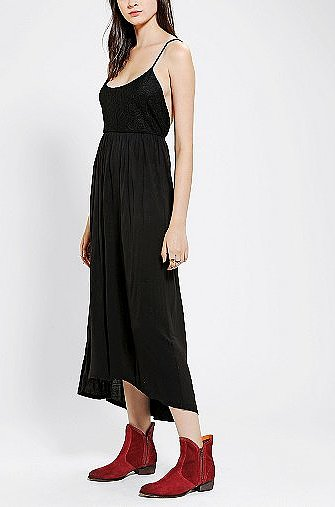 A slip dress like this Kimchi & Blue version ($49) can be styled up just about a million ways.