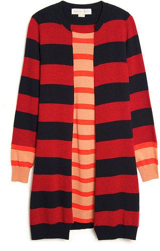 Stella McCartney Multi-stripe Knit Tunic Dress