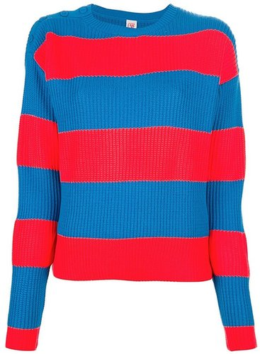 Lacoste Live bold striped sweater