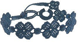 Cruciani Four Leaf Clover Bracelet - Midnight Blue