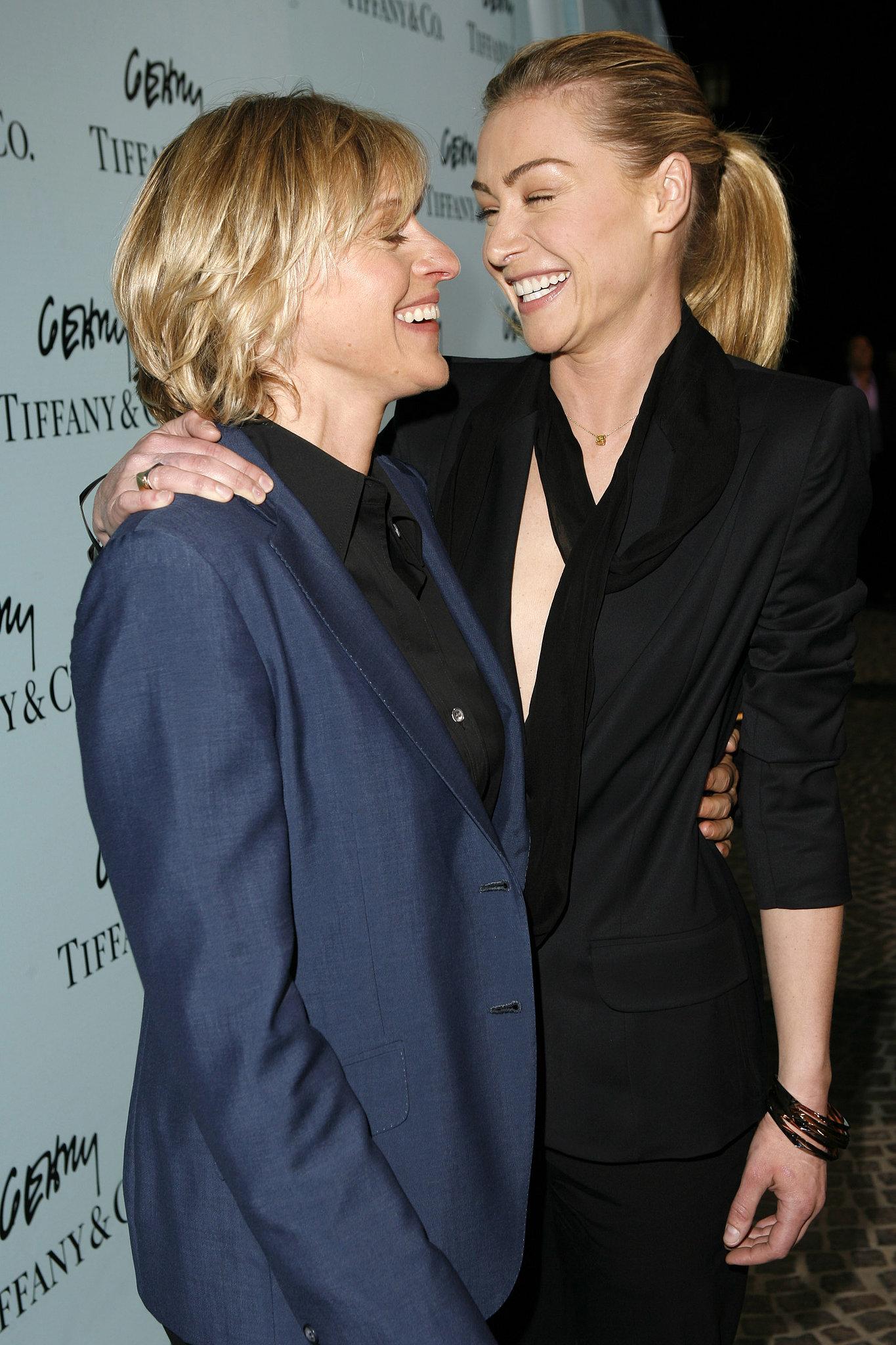 Ellen degeneres and portia de rossi 2013
