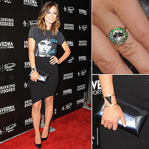 Olivia Wilde in Bruce Springsteen T-Shirt