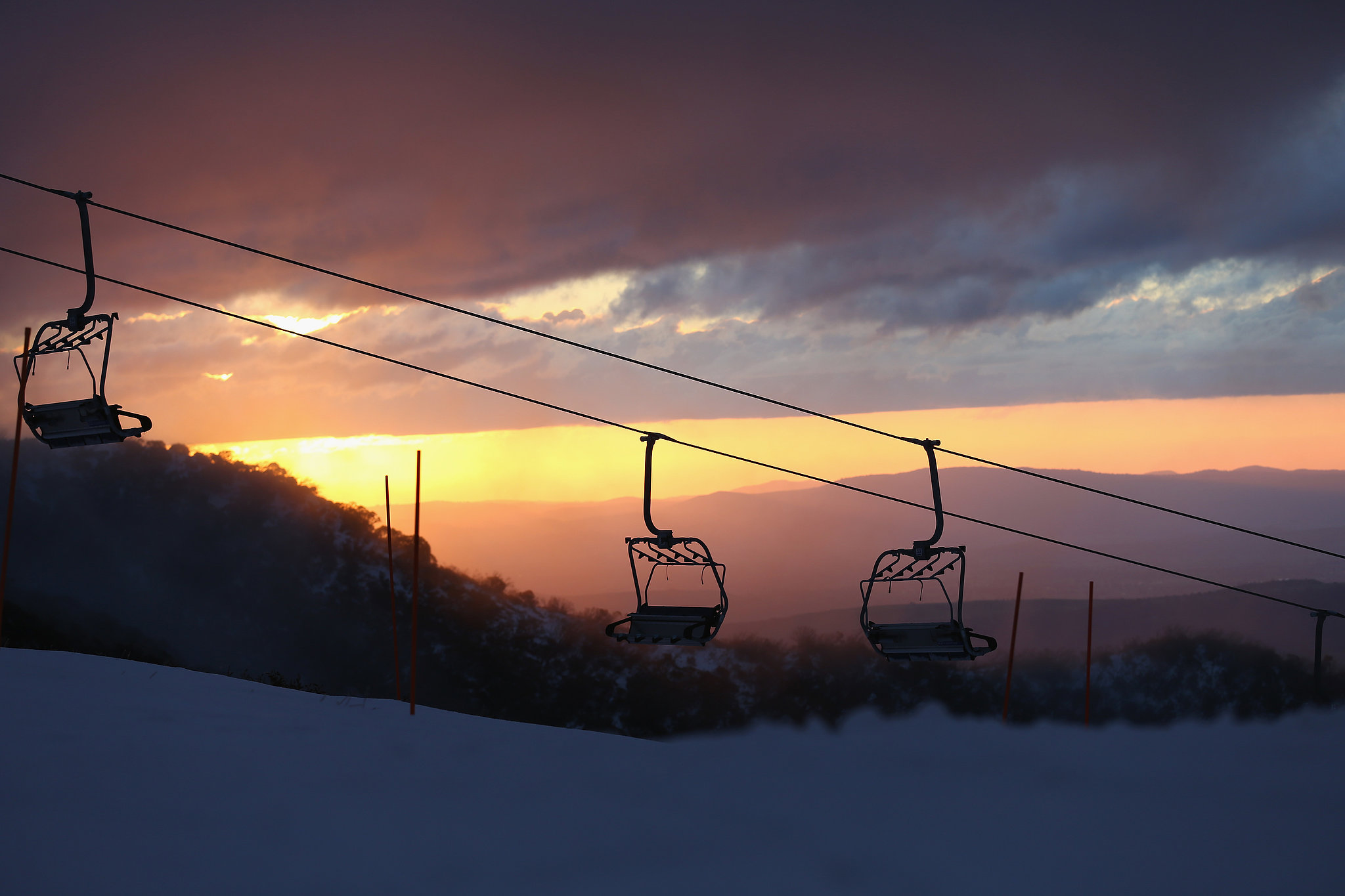 Sunset on the Slopes