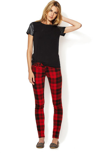 Plaid Legging Jean