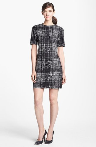 4.collective Mixed Print Sheath Dress